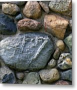 St. Augustine Stone Wall 2 090118 Metal Print