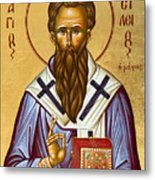 St Basil The Great Metal Print by Julia Bridget Hayes