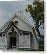 St Benedicts Painted Church 12 Metal Print