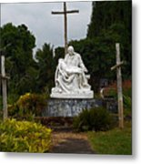 St Benedicts Painted Church 3 Metal Print