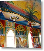 St Benedicts Painted Church 8 Metal Print