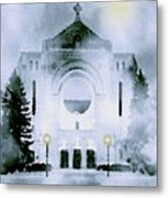 St. Boniface Cathedral Metal Print