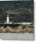 St Catherine's Lighthouse Metal Print