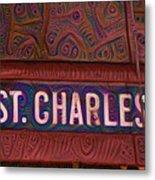 St Charles Line Metal Print