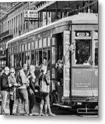 St. Charles Streetcar Metal Print