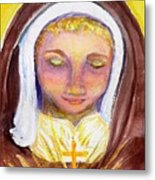 St. Clare Metal Print by Susan  Clark