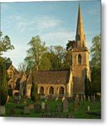 St Davids Church Cemetery 3 Metal Print