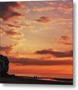 St Edmunds Point, Norfolk, England  Metal Print