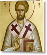 St Eleftherios Metal Print by Julia Bridget Hayes