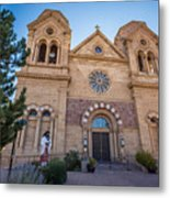 St. Francis Cathedral #2 Metal Print