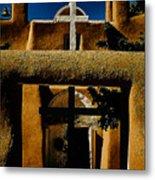 St. Francis Gate Metal Print