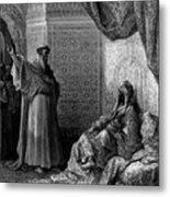 St Francis Of Assisi 1877 Metal Print