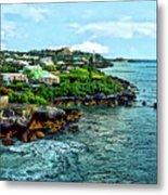 St. George Bermuda Shoreline Metal Print