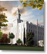 St. George Temple Metal Print