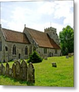 St George's Church At Arreton Metal Print
