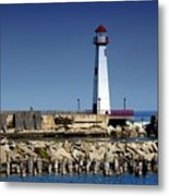 St. Ignace Lighthouse Metal Print