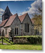 St James The Great Elmsted Metal Print