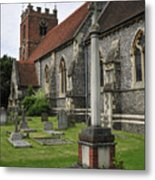 St James The Less Church Metal Print by Andy Smy