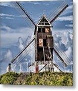 St. Janshuis Windmill Metal Print