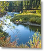 St. Joe River Metal Print