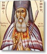 St John Of Shanghai And San Francisco I Metal Print by Julia Bridget Hayes