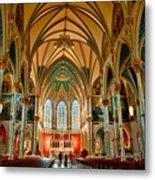 St John The Baptist Catholic Cathedral - Savannah Metal Print