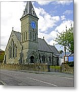 St John The Evangelist Church At Wroxall Metal Print by Rod Johnson