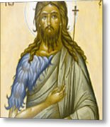 St John The Forerunner Metal Print