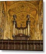 Kings College Chapel Metal Print