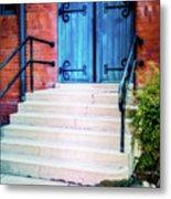 St. John's Door Metal Print