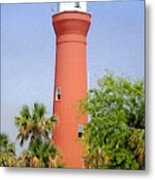 St Johns River Lighthouse Metal Print
