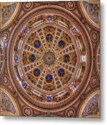 St. Josaphat Basilica Ceiling Metal Print