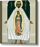 St. Juan Diego And The Miracle Of Guadalupe - Rljdm Metal Print