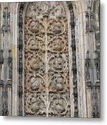 St. Lamberti Church - Stone Relief Metal Print