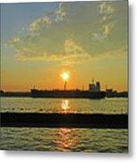 St Lawrence Sunset 3 Metal Print