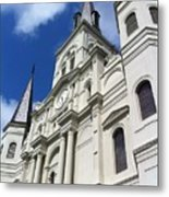 St. Louis Cathedral In The Afternoon Metal Print