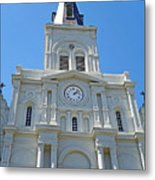 St. Louis Cathedral Study 1 Metal Print