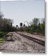 St. Louis From The East Side Metal Print