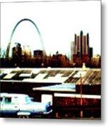 St. Louis Metal Print