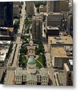 St. Louis Overview Metal Print