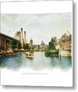 St. Louis World's Fair East Lagoon Metal Print