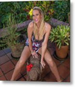 St Lucia Darcy 36 Metal Print