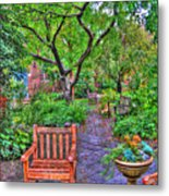St. Luke Garden Sanctuary Metal Print