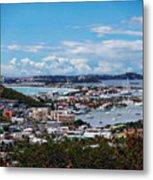 St. Maarten Landscape Metal Print