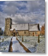 St Margarets Church Ridge Hertfordshire Metal Print