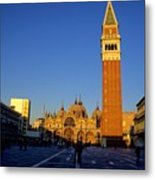 St Marks In Venice In Afternoon Sun Metal Print
