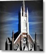 St. Mary In The Mountains Metal Print