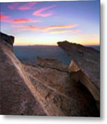 St Mary Peak Sunrise Metal Print