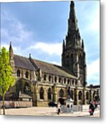 St Mary's Church At Lichfield Metal Print
