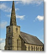 St Mary's Church - Coton In The Elms Metal Print